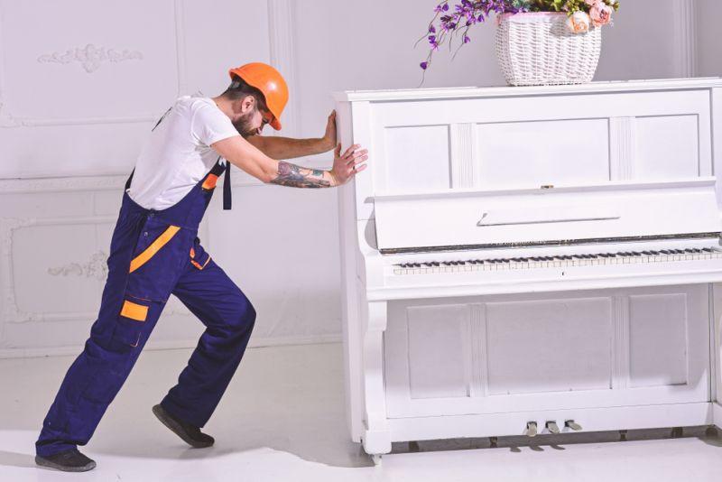 manutention de piano